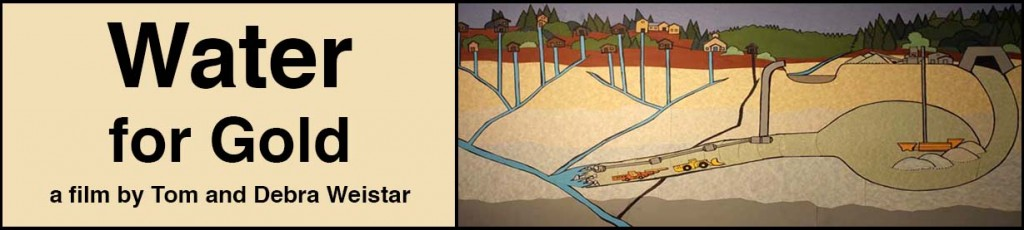 Water for Gold web banner